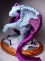 Wistful Winter pegasus pony by Woosie
