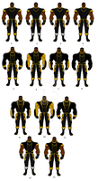 Luke Cage redesigns! by SplendorEnt