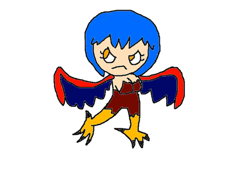 Mythical Creature drawing: Harpy by Jason5432