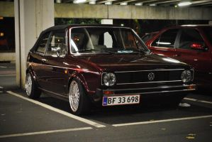 VW Golf mk1 by Clipse89