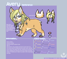 Commission- Avery Reference by Nicole-lune