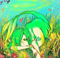 my sea is turning green by Hopealuoti