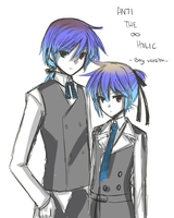 Doodle of Ren and Len by Na-Nami
