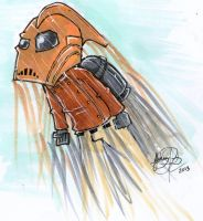 The Rocketeer by johnnyism