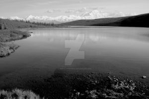 Mirror Lake, Denali N.P. by iamintheprocess