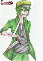 Flippy (Happy Tree Friends) by Sumonodozo