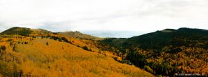 Mt. Taylor Autumn Panoramic by elektronika7