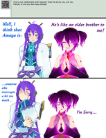 Ask Amaya Q2- Gakupo and Amaya by Omori-P