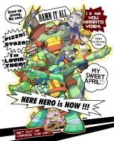 TMNT will come to JAPAN next spring! by s-bis
