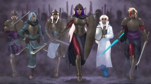 Drow Army by ArtbroSean