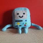 One Happy Handmade BMO by sfxbecks