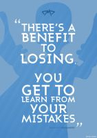 Megamind Quote Poster by JC-790514
