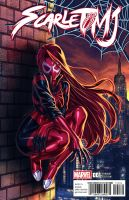 Scarlet Spider MJ by FooRay