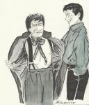 Jack Harkness and the Second Doctor...Oh My Word! by gravelgirty