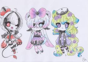 Random Adoptables CLOSED by ShiToHoshisaki