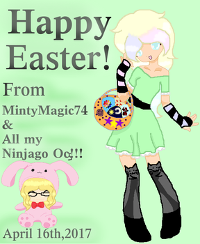 HAPPY EASTER!!!!!!!!!!!!!!!!!!!!!!!!!!!!!!!!!!!!!! by MintyMagic74
