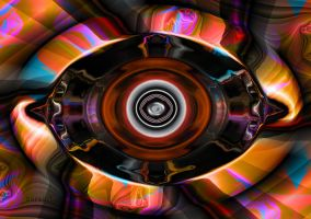 Psychedelic Eye by ivankorsario