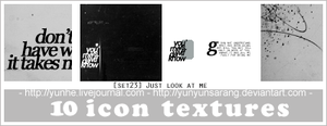 10 icon textures - just look by yunyunsarang
