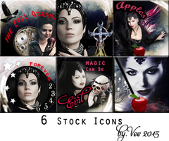 Six Icons by VaLeNtInE-DeViAnT