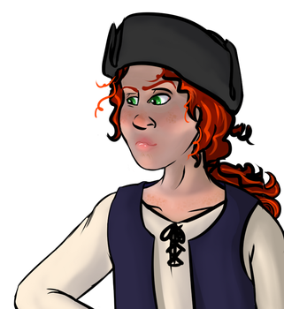 Pirate Maggie-Fyn by ChovexaniArt
