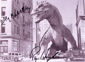 beast from 20,000 fathoms signed by TreborNehoc