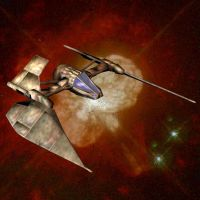 Sith Fighter-KotOR variety by Roguewing