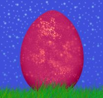 .glitter egg. by ashwynmayr