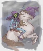 Napoleon Skeletor by DaveJorel