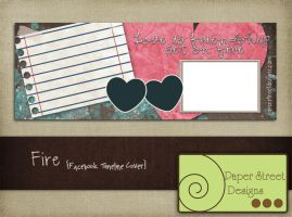 fire-facebook timeline cover by paperstreetdesigns