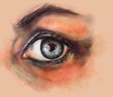 Eye Study in PainterIX by Indigo-Summers
