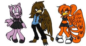 Mythological Sonic Adoptables by PhishRitzy