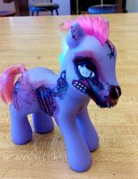 My little zombie pony by Fire-Redhead