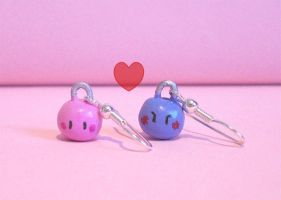 Dango daikazoku earrings by abija