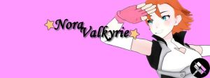 Simple Nora Banner by FantasyFinale12