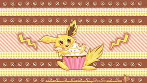 Jolteon Luvs teh Cupcakes by thisbemoo