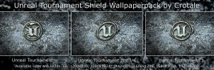 UT Shields Wallpaper Pack by Crotale