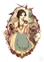 snow white by JDarnell