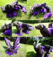 OOAK Dragon Art Doll- Multiple Shots by xThe-Royal-Dragonx