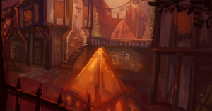 Pyramid's street by the-fogz