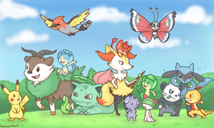 All My Pokemon by KumariKat