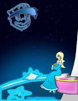 Rosalina: Shooting Star by Xero-J