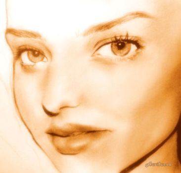 Miranda Kerr (unfinished) by jearommean