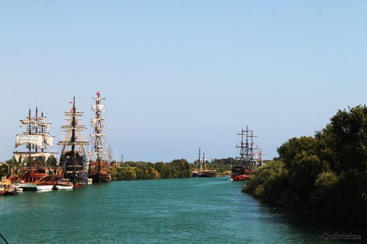 The Pirate Bay by Quilviirina
