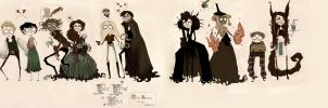 Once Upon a Tim Burton by ooNerina