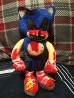 Sonic.EXE plush by HyperShadow92