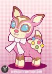 Cupcake the Deer [PRINT] by pai-thagoras