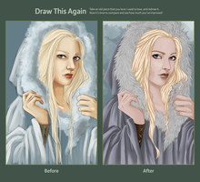 Draw it again: Vanadis by DrottningFrey