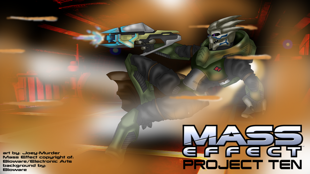 Mass Effect: Project Ten by Joey-Murder