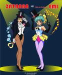 Zatanna vs Maho no Star Magical Emi by FaGian