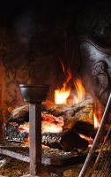AROUND THE FIREPLACE by isabelle13280